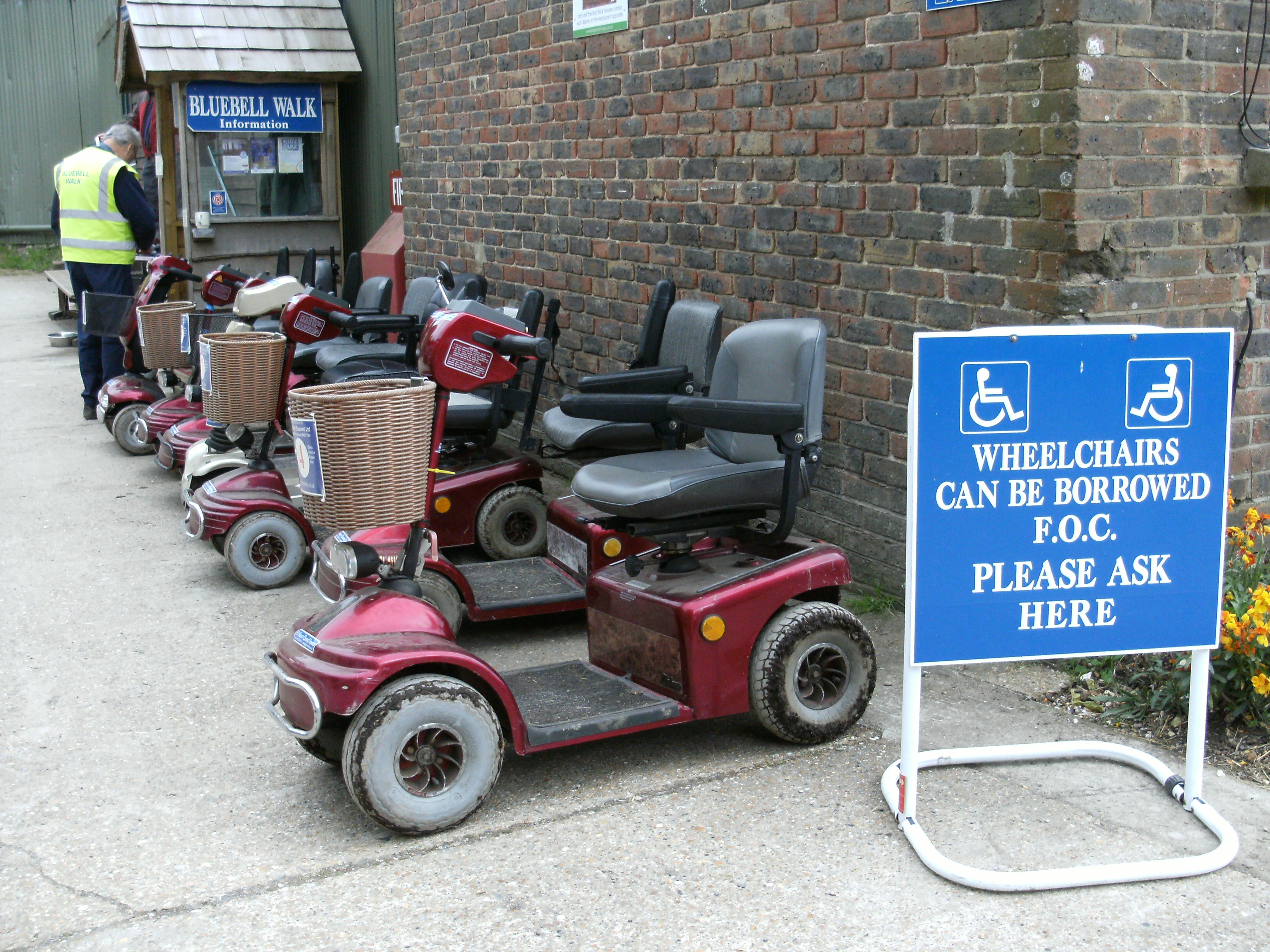 Mobility Scooters at Arlington Bluebell Walk